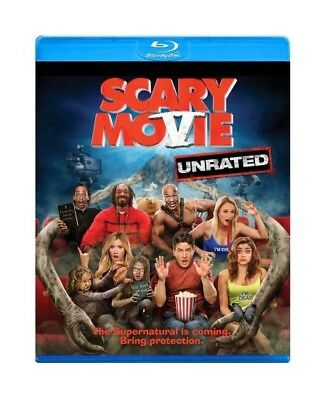 Scary Movie 5, Unrated, Blu-Ray Disc and DVD