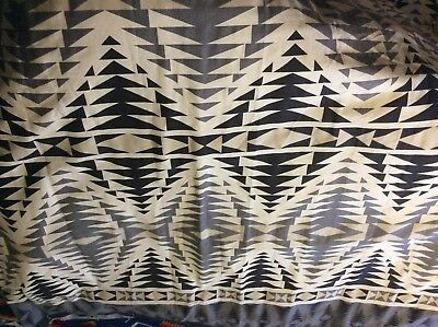 Pendleton Woolen Mills Urban Outfitters Pecos Shower Curtain Black Grey