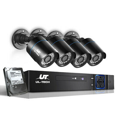 UL Tech 1080P 8 Channel HDMI CCTV Security Camera with 1TB Hard Drive (CCTV-8C-4