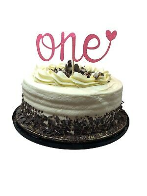 MUD PIE FIRST Birthday Cake Topper New