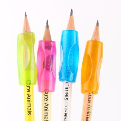 4pcs Children Students Stationery Pencil Holding Pen Holder For Office School