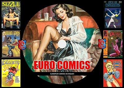 European comic Collection On DVD Rom