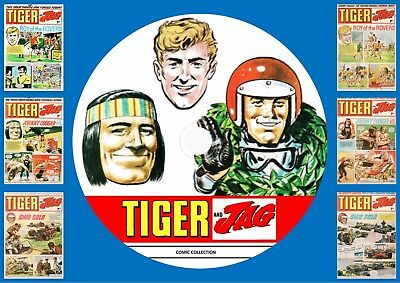 Tiger & Jag UK Comics On DVD Rom