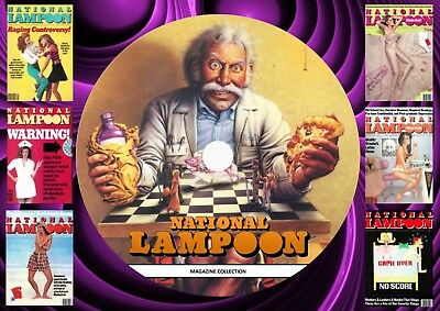 National Lampoon magazine Collection On DVD Rom