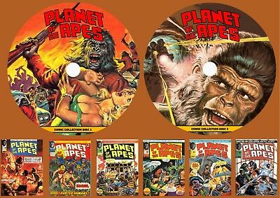Planet Of The Apes Weekly Comic Collection & more On Two DVD Rom's
