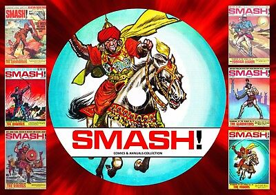 Smash! Comics & Annuals Collection 1 On DVD Rom
