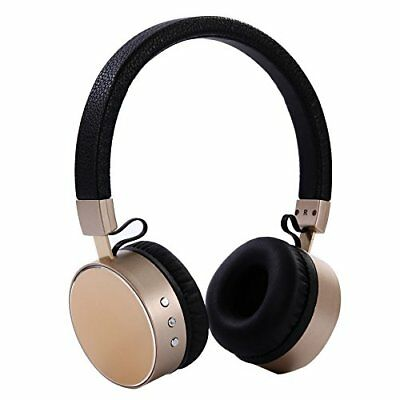 Bluetooth Headphone Stereo Hifi Metal Headsets with Microphone Micro SD FM Radio