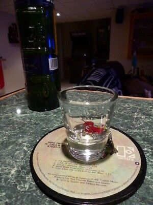 Rare Old Original Bookbinders Shot Glass Seafood Philadelphia (Now Closed)