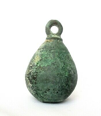 1700's Antique Copper Stuffed Lead Ottoman Turkish Hanging Weight - 1.6kg!