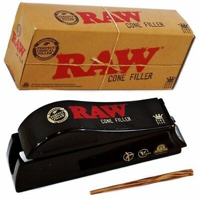 RAW Rolling Papers Loader Shooter Filler - King Size for Pre-Rolled Cones
