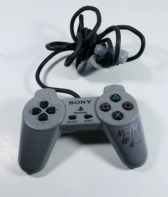 Sony PlayStation 1 Controller PS1 Original Official Digital Tested ML40