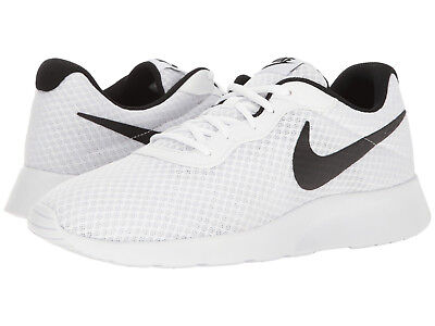 Nike TANJUN Mens White//Black 812654-101 Lace Up Casual Shoes