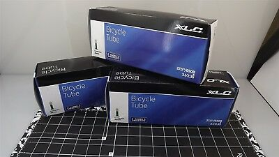 "XLC THORN RESISTANT Boxed 27.5/"" X 2.1//2.3/"" SCHRADER INNER TUBE 3-PIECE SET"