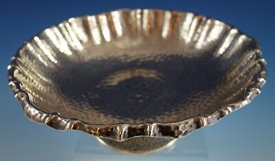 "Antique Hammered by Gorham Sterling Silver Bowl Raised 8 5/8"" x 3 1/4"" (#2540)"