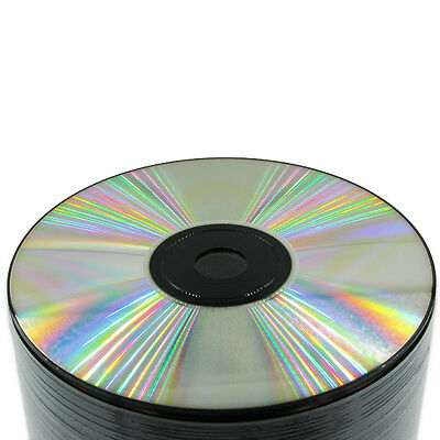 200 pc Black bottom/ Silver top CD-R 654 MB Blank Recordable CD -NEW!