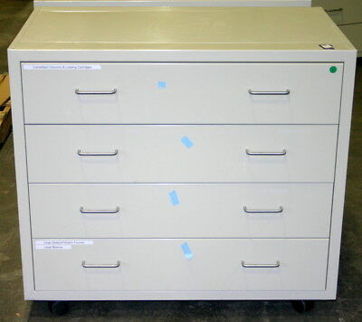 Fisher Hamilton Laboratory Cabinets, Casework, 69.5 Feet, Includes Wheels
