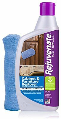 Rejuvenate Cabinet & Furniture Restorer Fills in Scratches 13 oz