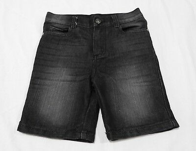 Boys  size 8  Faded black denim Long  shorts B Collection