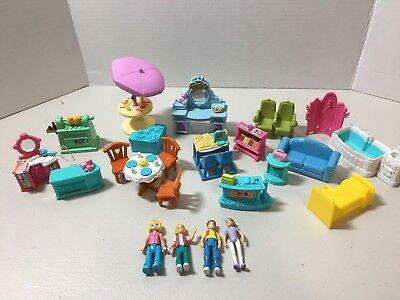 Fisher Price Sweet Streets Lot People Furniture Accessories