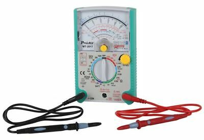 Proskit Analogue Multimeter Tester Taiwan Accurate  MT-2017 OZ Stock OZ Warranty