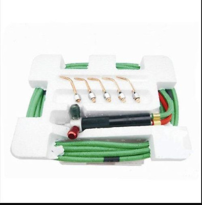 Top Jewelry Gas Torch Welding Soldering Little Torch Full w/ Hoses & 5 tips@ YOU