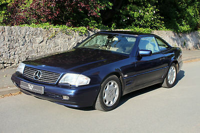Mercedes-Benz SL 320 R129 Auto Blue Low Mileage Immaculate Condition