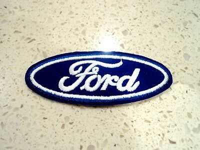 New Ford Car Logo Patches Embroidered Cloth Patch Applique Badge Iron Sew On