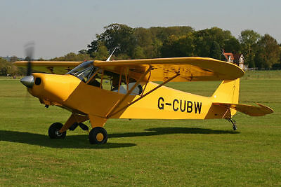 CUBy SPORT & ACRO TRAINER PLANS FOR HOMEBUILD - REPLICA OF THE PIPER J3