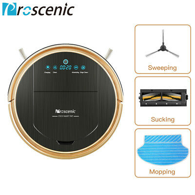 Proscenic WIFI Robotic Vacuum Cleaner Mop Automatic Carpet Dry Wet Sweeper Robot