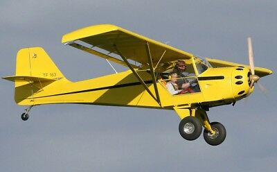 Kitfox Replica Plans For Homebuild - Simple & Cheap Build 2 Seat Stol Aircraft