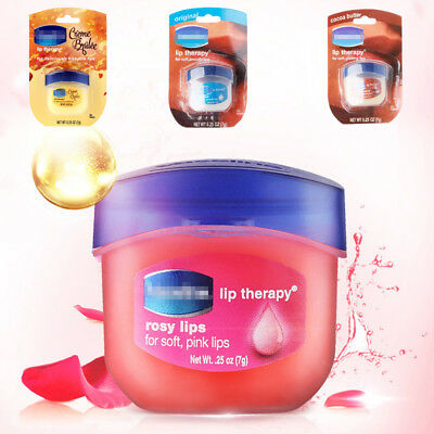 Vaseline Lip Balm 7g 5kinds Lip Aloe Vera Cocoa Butter Rosy Lips