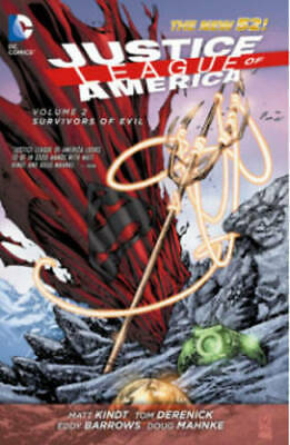 Justice League of America Volume 2: Survivors of, Kindt, Matt, Very Good