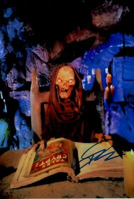 JOHN KASSIR signed autograph TALES FROM THE CRYPT In Person 8x12 with COA KEEPER
