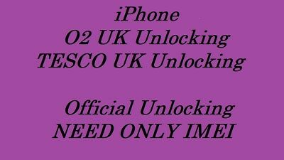 Unlocking Iphone 3Gs 4 4S 5 5C 6 6S 7 5S O2 Uk Tesco Uk For All Plans Clean Imei