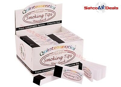 Quintessential STANDARD Smoking Rolling Papers Tips Filter Roach Chlorine Free