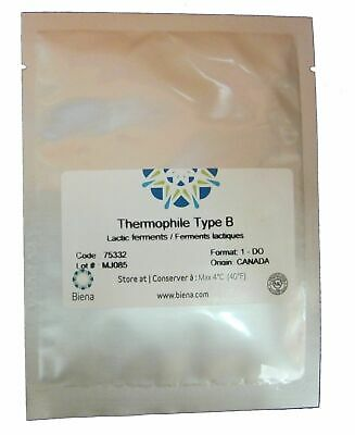 Cheese culture, Thermophilic Type B - for Italian cheeses.