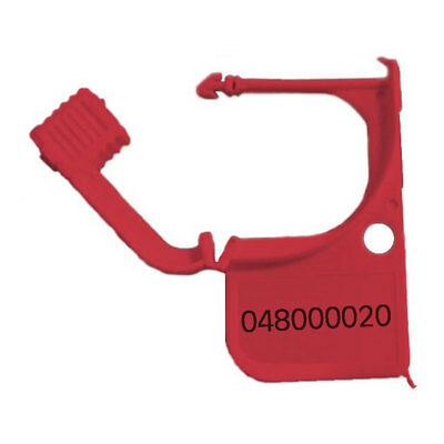 Red Padlock Security Seal