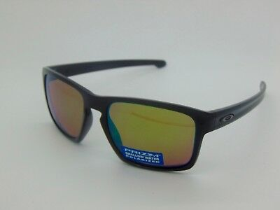 59921898939 OAKLEY SLIVER OO9262-38 Polished Black Prizm Shallow Water Polarized  Sunglasses