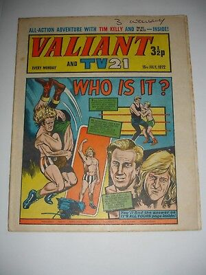 VALIANT And TV 21 comic 15th July 1972