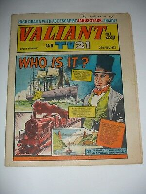 VALIANT And TV 21 comic 22nd July 1972