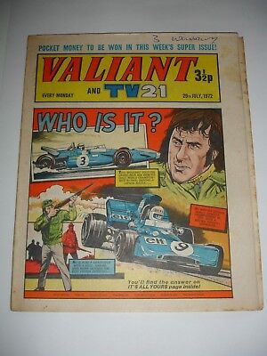VALIANT And TV 21 comic 29th July 1972
