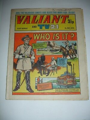 VALIANT And TV 21 comic 8th July 1972