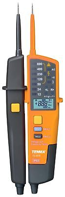 Voltage & Continuity Tester 12V to 690V - Phase rotation / RCD testing functions
