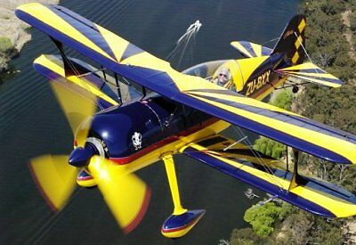 Plans For Homebuild 2 Seat High Perfomance Aerobatic Biplane M14 Engine