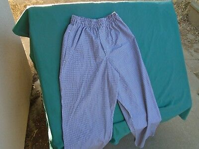 Chef Pants 2 Black and White Check Chef Pants size Large $6.00 for Both Pants