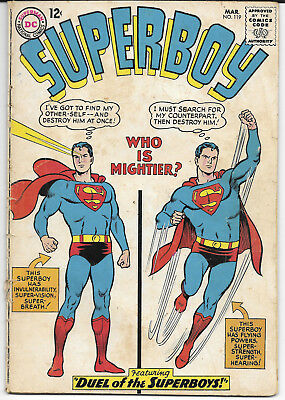 1965 Superboy #116 GD DC Comics FREE BAG/BOARD