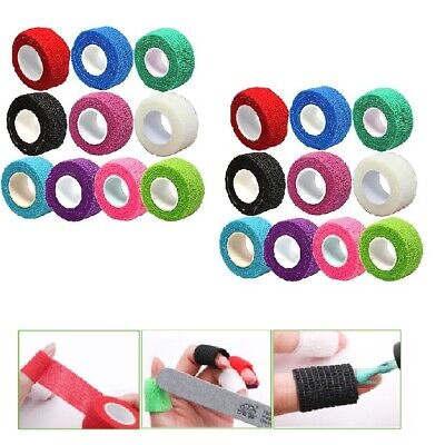 Self-adhesive Stretchy Finger Protection Tape Wrap Bandage Nail Art Tips Tool