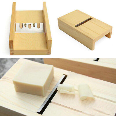 Wooden Box Loaf Beveler Planer Handmade Soap Cutter Cutting Trimming Tools