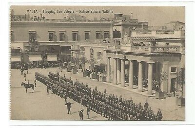 Malta **Trooping the colours * Palace Square Valetta