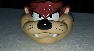 Looney tunes tazmanian devil 1993 3D Vinly Mug/Cup Warner Brothers